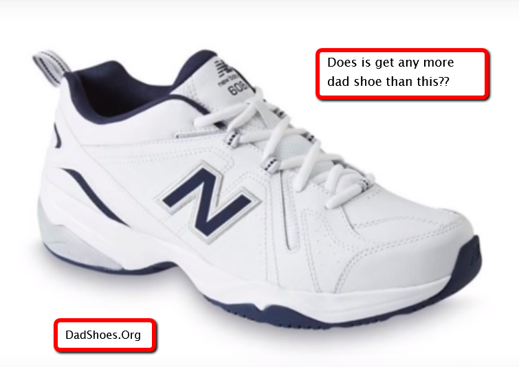 image of new balance dad shoes